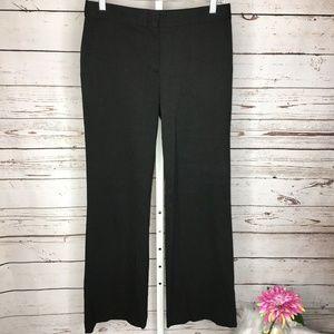 BCBG Maxazria Womens Black pinstripe Dress Pants 4